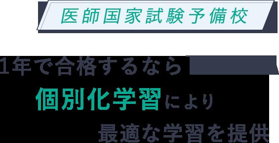 1年で合格するならTECOM 個別化学習により最適な学習を提供